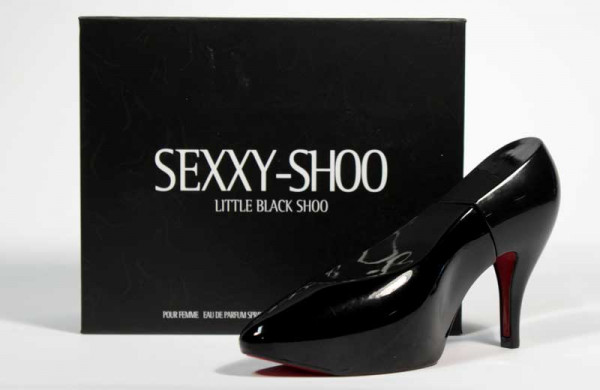 Sexxy Shoo EdP -tuoksu, musta