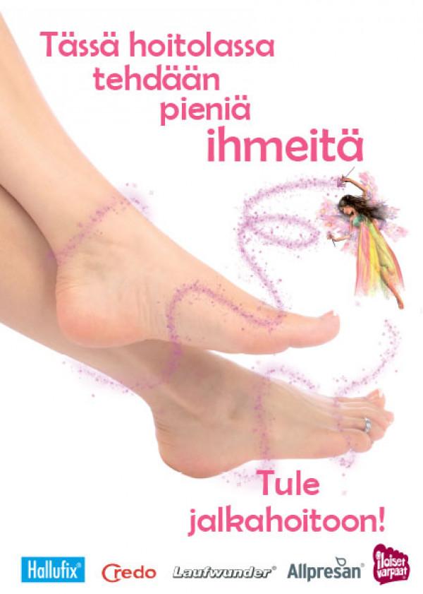 Kausijuliste Taikajuliste jalka, koko 50x70 cm