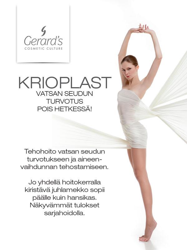 Juliste Gerards Krioplast, koko 50x70 cm