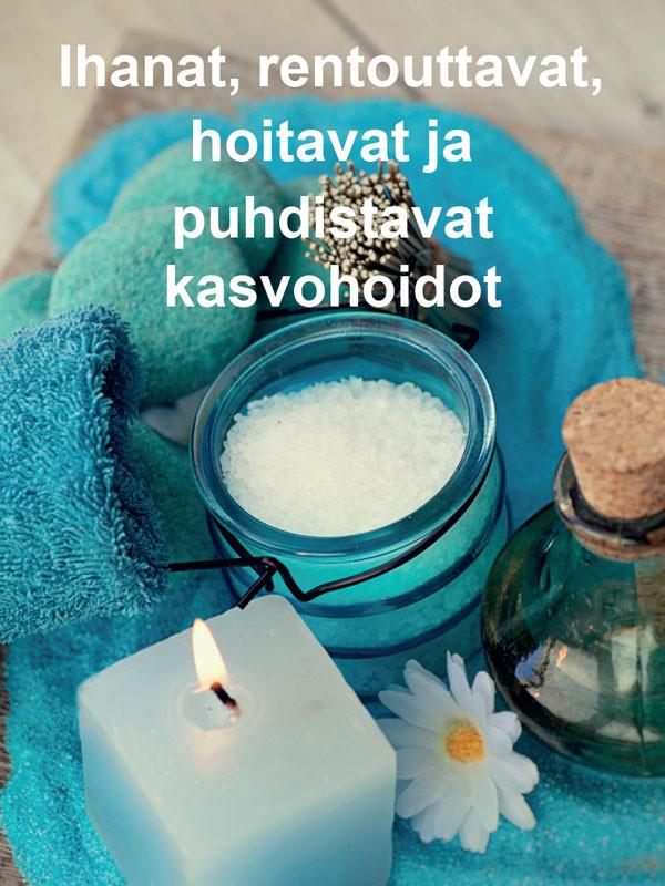 Juliste puhdistavat kasvohoidot