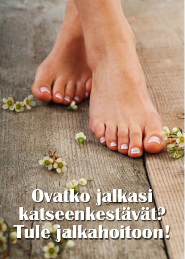 Kausijuliste Ovatko jalkasi katseenkestävät 50x70