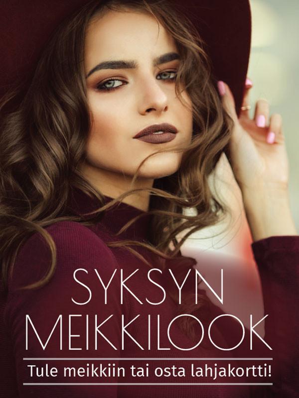 Juliste Syksyn meikki-look 50x70