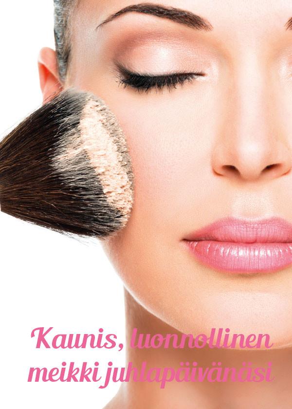 Kausijuliste Luonnollinen meikki