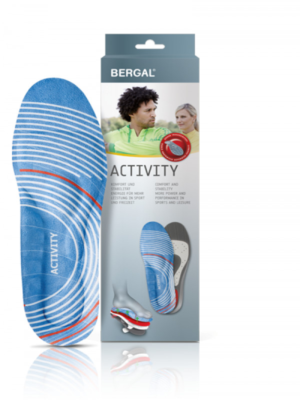 Bergal Activity-pohjallinen koko 37-38