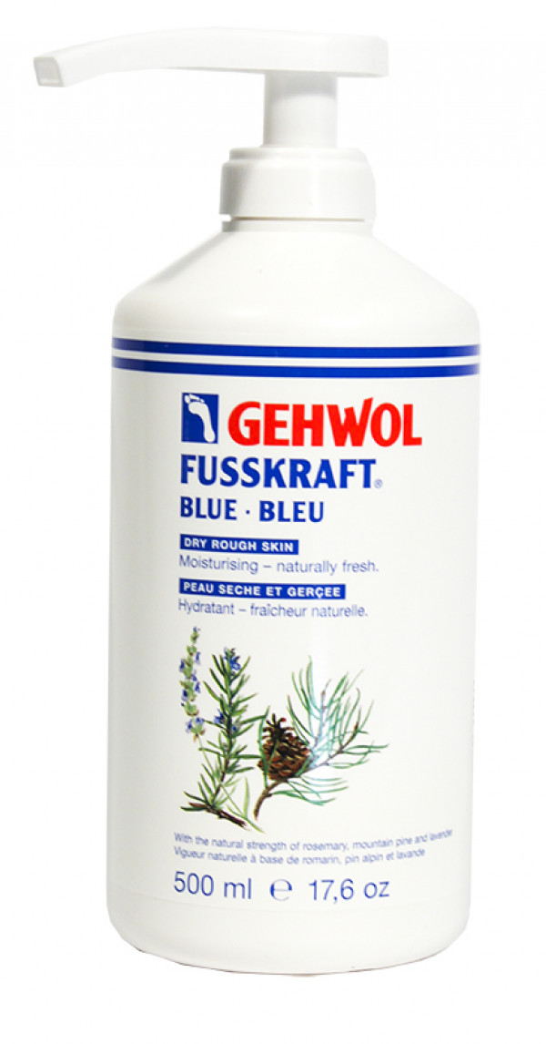 GEHWOL, sininen 500 ml pumppupullo