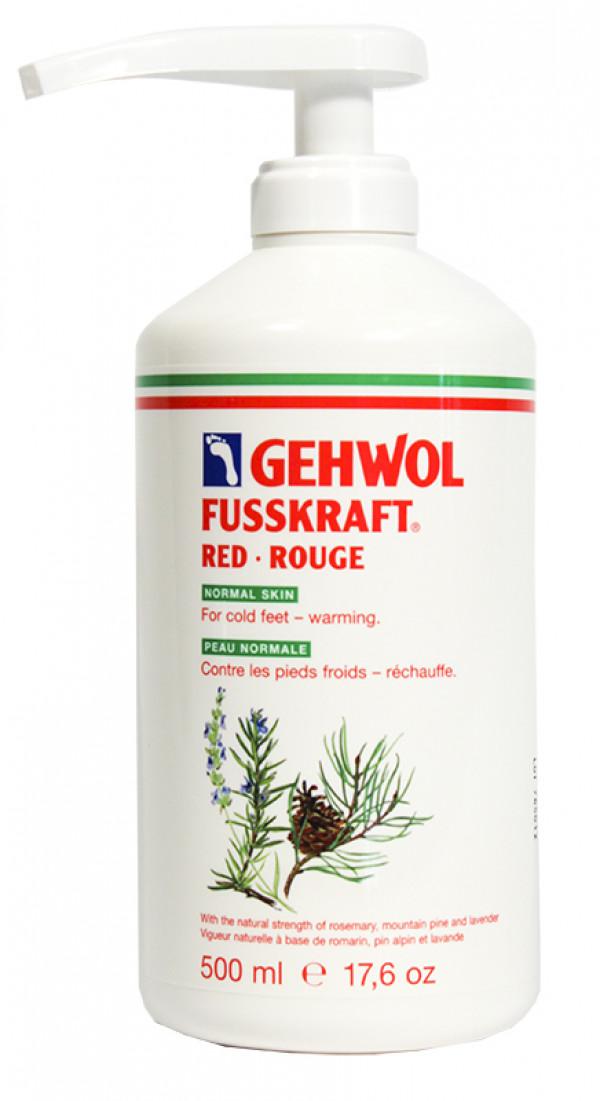GEHWOL, punainen 500 ml pumppupullo