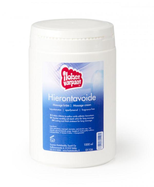 Iloiset varpaat -hierontavoide, 1000 ml