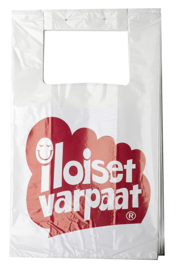 Iloiset Varpaat muovikassi, iso 50 kpl