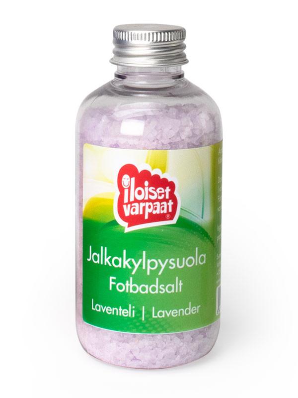 Iloiset varpaat -Jalkakylpysuola, laventeli 150ml