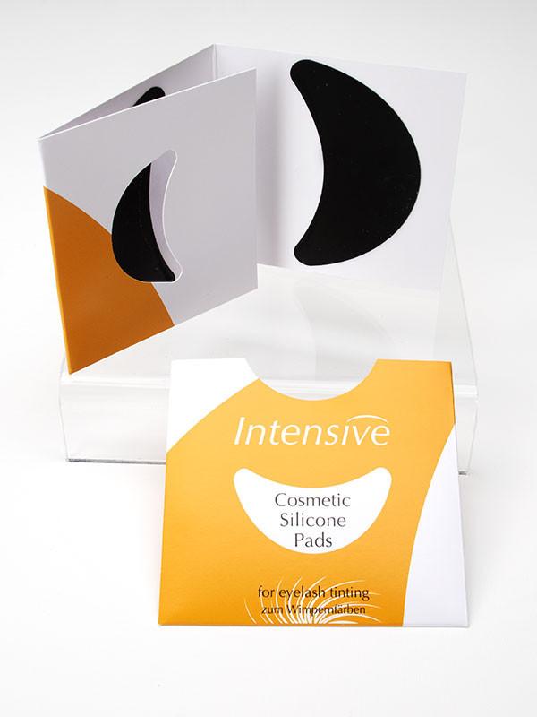Intensive silicone pads, musta 1 pari