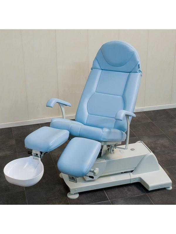 Valkoinen roiskesuoja PLS-tuoliin