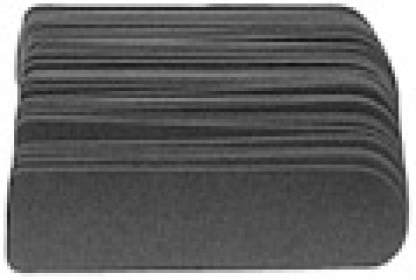 Raspipaperi, hieno 100 kpl, VANHA 2,5cm kapea
