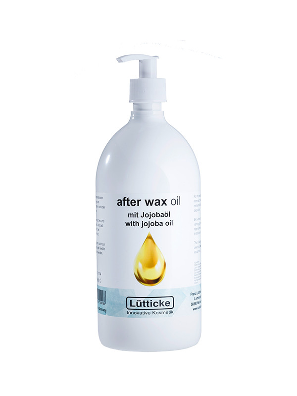 After wax oil with Jojoba, vahanpoistoöljy 500 ml