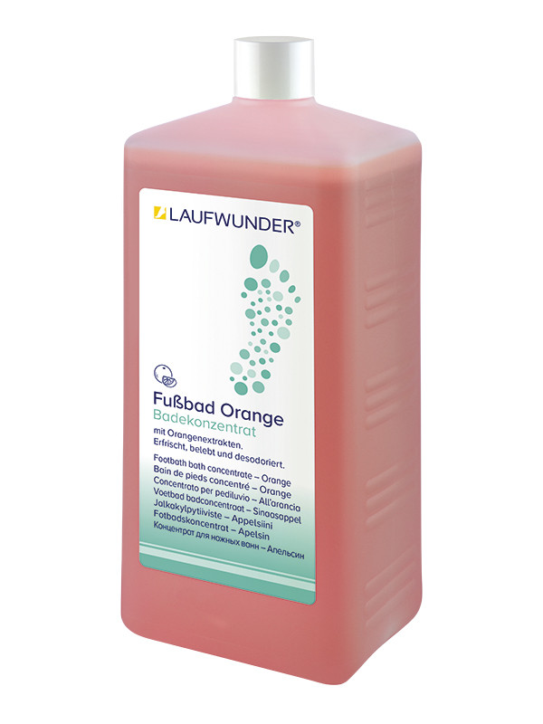 Laufwunder jalkakylpy appelsiini 1000 ml