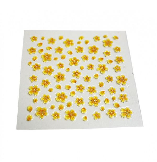 kynsitarra kukka, keltainen