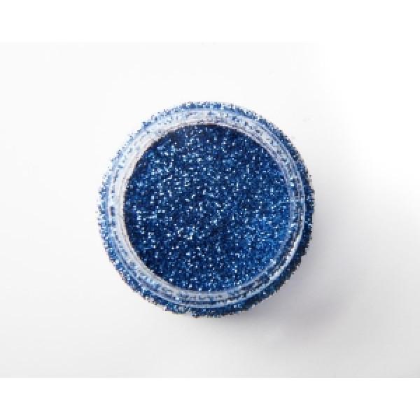 Tumma yön sininen glitter