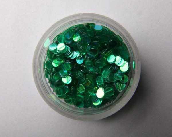 Glitter kuvio metalli vihreä pyöreä