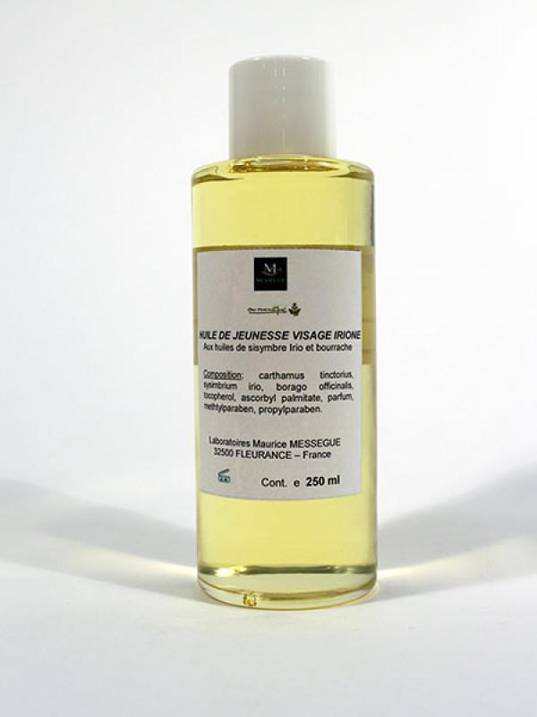 Irione -uudistava hoitoöljy 250 ml lasiplo
