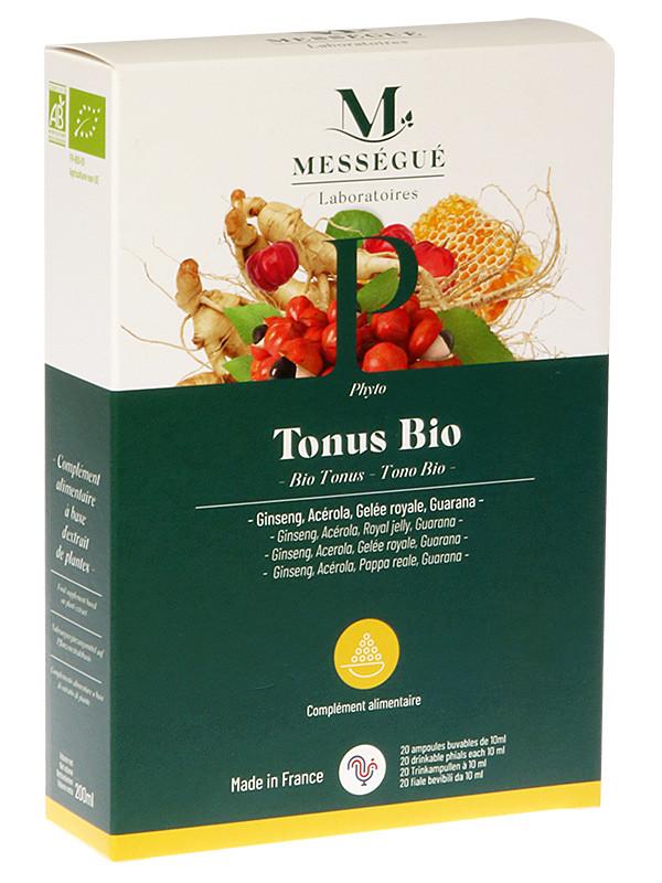 Mességué Tonus- luomuampulit 20 x 10 ml