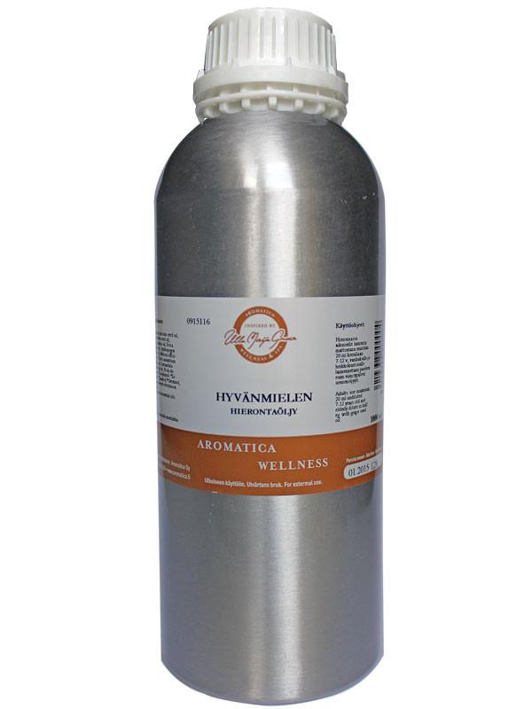TilaustuoAromatica Hyvänmielen hierontaöljy 1000ml