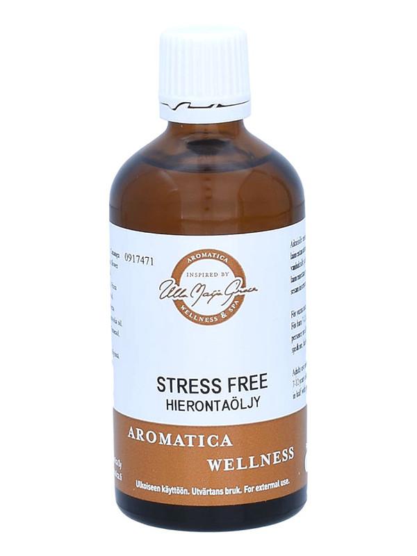Stress Free hierontaöljy 100ml