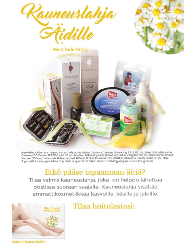 Äitienpäivän mainospaketti