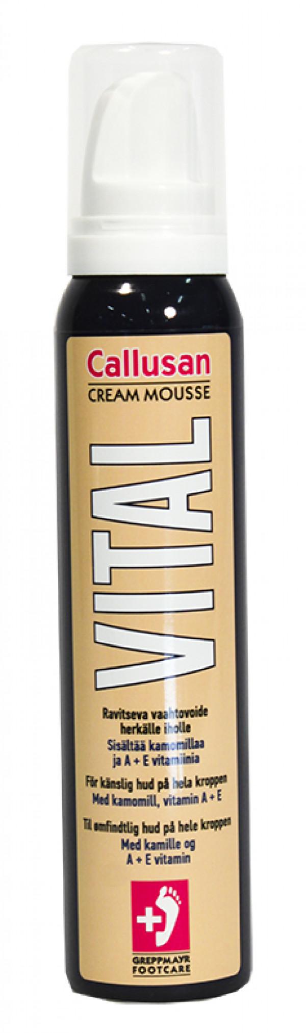 Callusan Vital-voidevaahto 125 ml