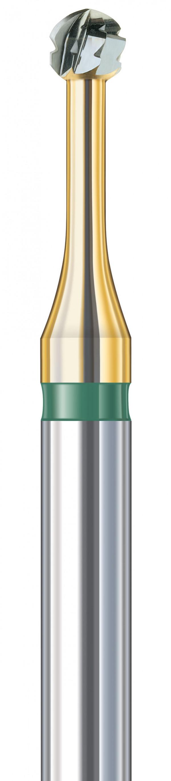 Karbiditerä, ruusu 1,8 mm 2 kpl