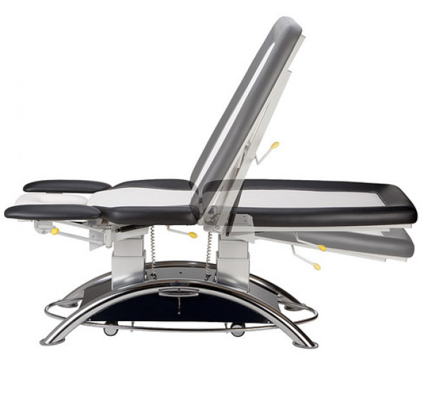 Capre FX5-hoitopöytä, 2 moottoria, mustavalkoinen