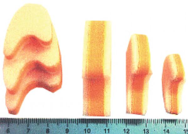 Varpaiden erottaja, keskikoko, 10 mm, 2 kpl