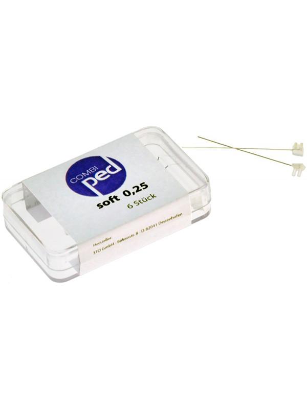 Combiped kynnenoikaisuliuska 0,25, soft  6 kpl