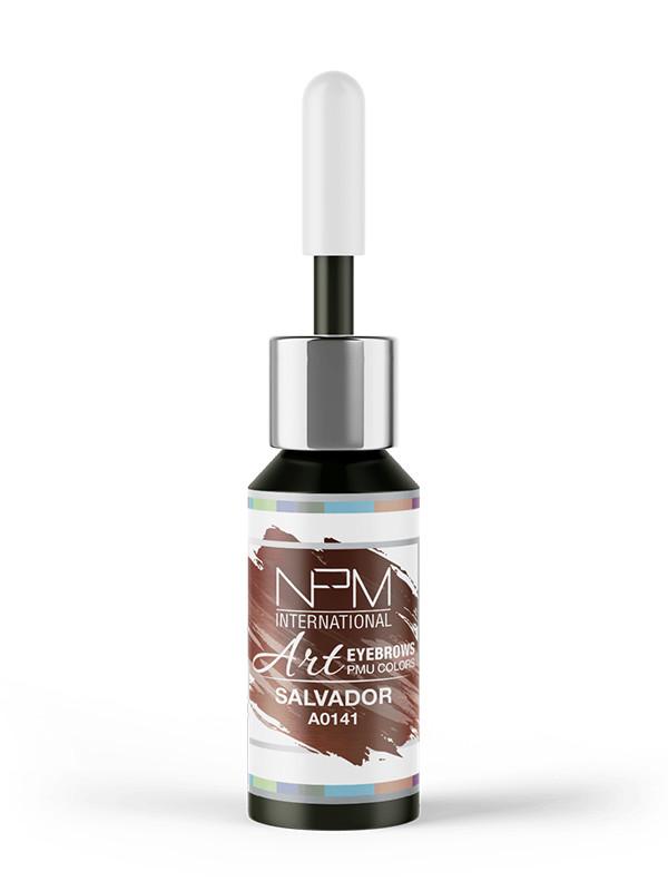 NPM pigmentointiväri kulmille 12 ml Salvador