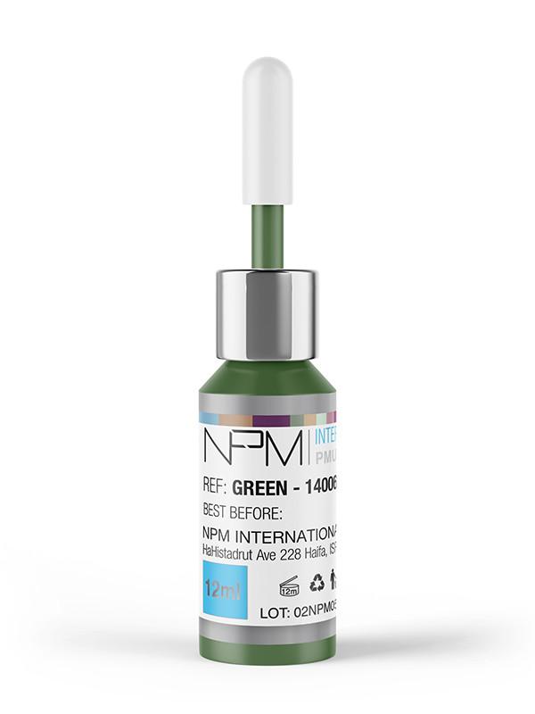 NPM Pigmentointiväri 12 ml silmille, Green 14006