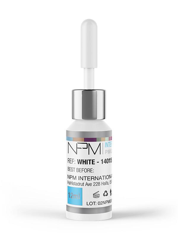 NPM-pigmentointiväri 12 ml silmille, White 14015