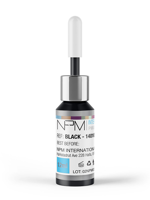 NPM-pigmentointiväri12 ml silmille, Black 14016