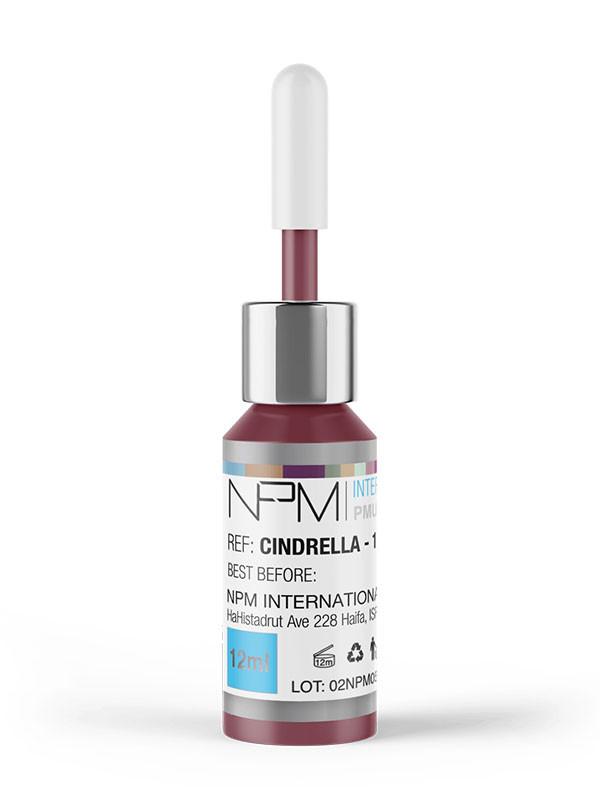 NPM-pigmentointiväri 12ml huulille,Cinderella15035