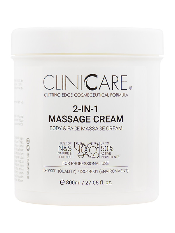 Cliniccare 2-in-1 Massage Cream 800ml