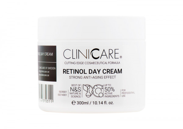 Cliniccare Silky Retinol Day Cream 300 ml
