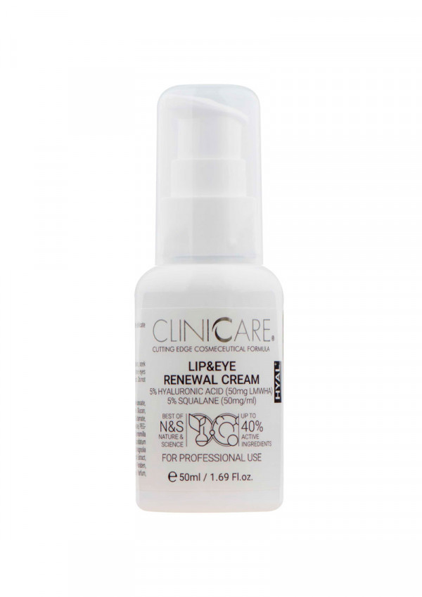 Cliniccare Lip and Eye Renewal Cream 50 ml