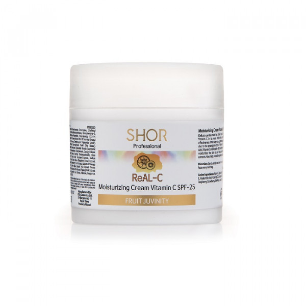 Shor Moisturizing Cream Vitamin C SPF-25  250ml