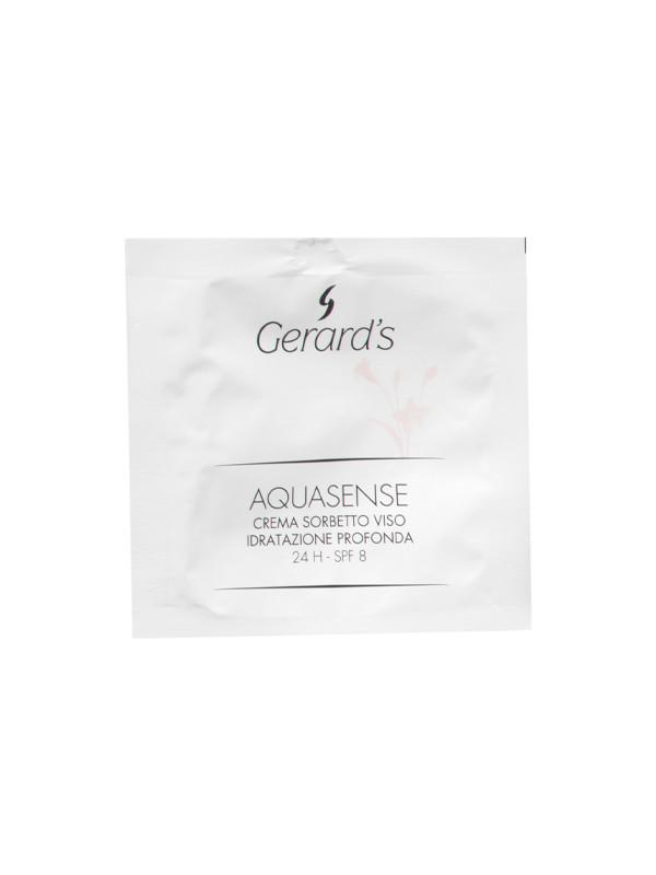 Aquasense moisturising face sorbet cream 5 ml