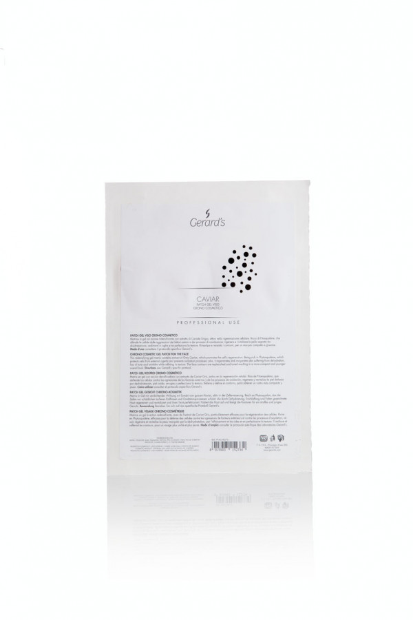 Caviar Patch Gel Viso naamio+ booster 30 ml