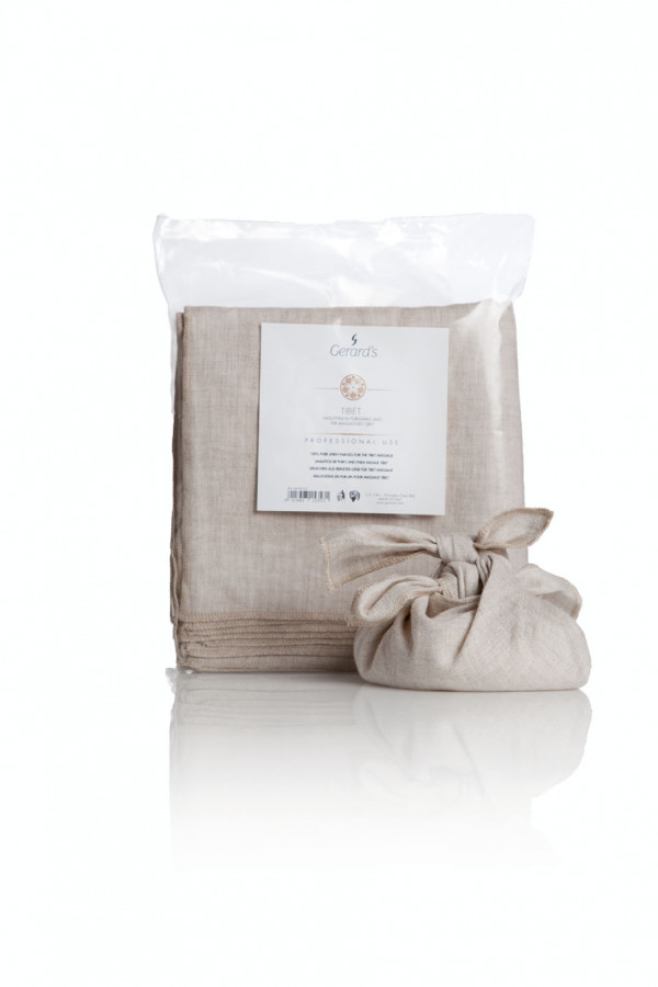 Well-Being Tibet Pure Linen nyyttiliina 10 kpl