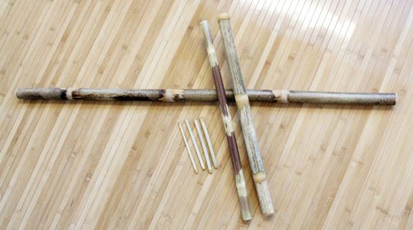 Well-Being Bamboo Sticks hierontakepit 7 kpl