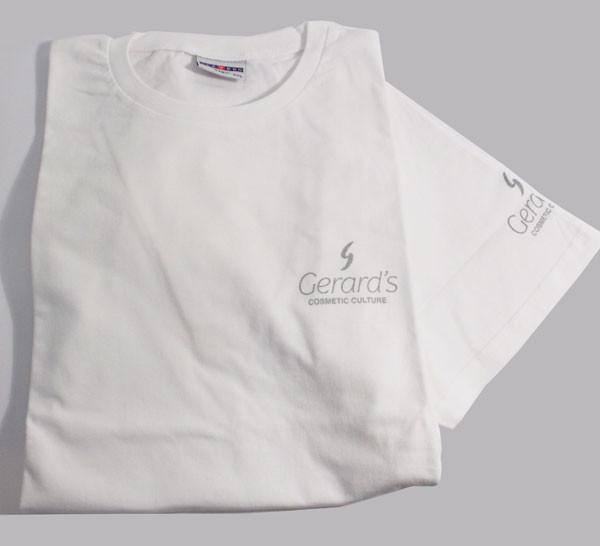 Gerard's T-paita, valkoinen S, hoikka
