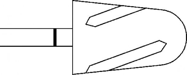 Dia Twister, päärynä superkarkea 9,5 mm