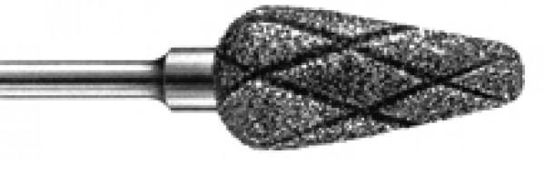 Timanttiterä, päärynä superkarkea ristiuurre 5 mm
