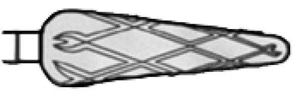 Timanttiterä, päärynä superkarkea ristiuurre 6,5mm