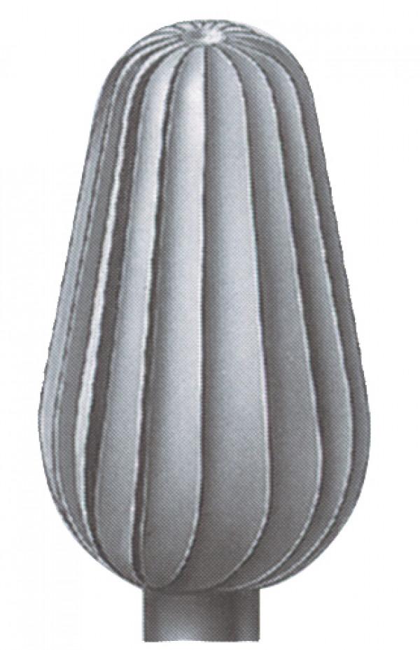 Hioja 050 päärynä, pystyrihlattu, 2 kpl