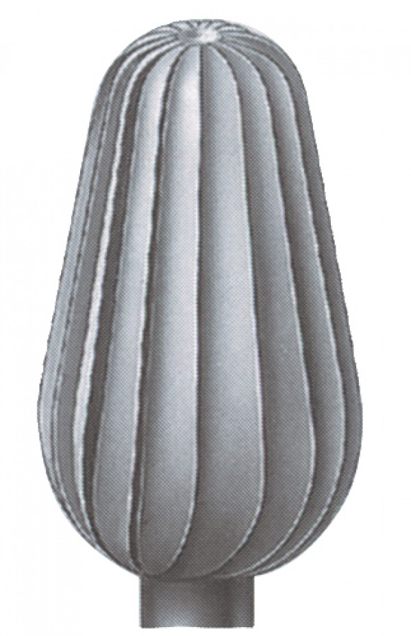 Hioja, päärynä pystyrihla 6 mm 2 kpl